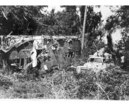 1956 blimp crash site