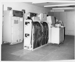 AN-ASA-27 digital  computer and switches circa 1967