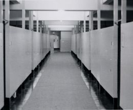 Barracks interior