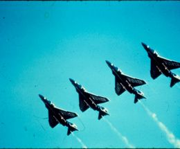 Blue Angles Diagonal