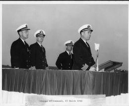 Change of Command 3-23-62