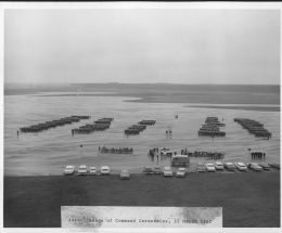 Change of command airfield