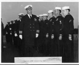 Dress-blues Inspection