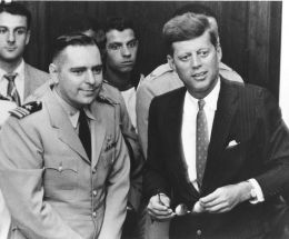John Fahey with JFK